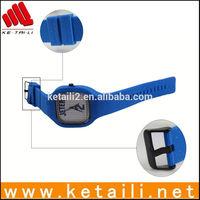 custom designed dial colorful watch wrist watch silicone wrist watch