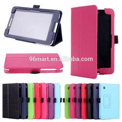 Back standing flip cover case for Lenovo a7-30 a3300 tablet