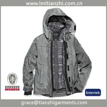 2014 New Arrival custom European Duck Down Jacket/Winter down jacket inner 3 in 1