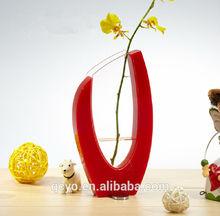 Custom flower vase painting designs QCY135