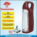 Chinois en plastique solaire portable d'urgence lanterne rechargeable avec chargeur de téléphone portable
