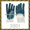 nitrile coated safety gloves/nitrile safety gloves/work glove