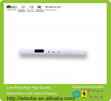2014 China new product portable power bank only 4.7mm thickness,mobile power bank/mobile power supply