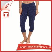 OEM/ODM polyester/spandex custom made sex loose linen pants womens capri flare pants