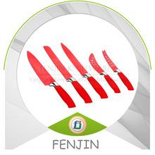 5pcs Non-stick Newly Global Cutlery Knife Set