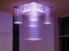 chandelier crystal lighting side emitting plastic optical fiber