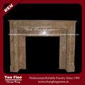 de pared de madera ardiente chimenea decorativa repisa de la chimenea talla repisa de la chimenea
