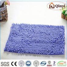 NEW bedroom round decorative furniture microfiber chenille floor mat / Chenille mat-QINYI