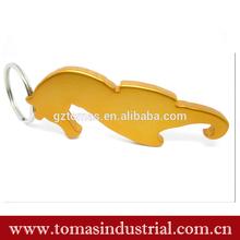 Guangzhou wholesale animal aluminum bottle opener keyring