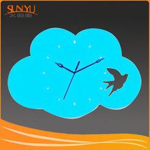Fashion design custom apple shape acrylic clock