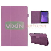 Factroy pirce PU Leather Stand Cover Case for Sony tablet Z2 10.1 inch Tablet P511