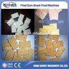 Corn flour snacks production line/rice flour chips snacks machine