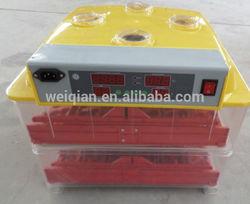 special price $40 ! mini incubator 288 quails, WQ-72 automatic bird egg incubator factory direct supply