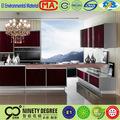 Production rapide antique armoires de cuisine panneau 2 x 4 bois sculpté armoires de cuisine
