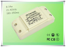 2014 new design shenzhen 12v dc power supply UL led driver 4-7w led driver with hot sale