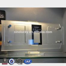 Custom retail shop desktop acrylic display stand/countertop makeup display