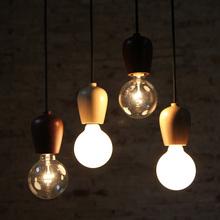 ele ainda é um bom pub criativa da loja de roupas madeira candelabro da lâmpada do quarto cabeceira escandinavos minimalista de cabeça única pequena ch