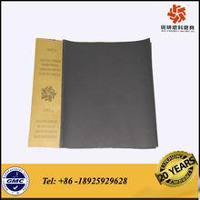 Silicone carbide waterproof abrasive paper sheet