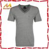 100% cotton v-neck popular fair trade t shirts /high quality soft and thin fair trade t shirts
