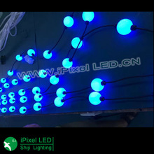 3d 50mm DMX ball hanging ball, 360 degree led ball, hanging 360 led video curtain