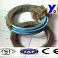 eletro galvanizado corte do fio do ferro