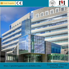 glass curtain wall/glass facade/point supporting glass curtain wallGM-LL 268