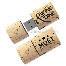 2014 promotion Original Color Wooden USB 1G 2G 4G 8GFlash Drive wine cork USB laser print for wedding gift accept Paypal