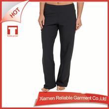 OEM/ODM polyester/spandex custom made sex 96 polyester 4 spandex pants wholesale