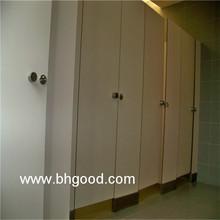 white Phenolic board shower toilet cubicle