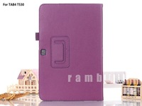Promotion ! Folio Pu Leather Stand Case for Samsung Galaxy Tab 4 7.0 T230 7 inch tablet pc Flip cover case