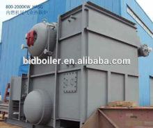 Advanced coal water slurry steam boiler for foam making