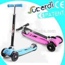2014 new model patent 4 wheel kids kick eagle scooter