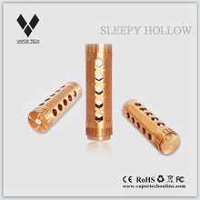 newest red copper mod newest launched hot selling huge vapor Vapor Tech the Sleepy Hollow 26650 Mod, the HK 47 26650 copper mod