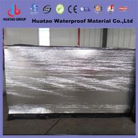 Aluminium surface flat roofing waterproofing membrane