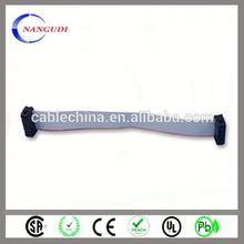 2p to 40p csa rohs 20-pin flat ribbon cable