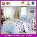 2014 elegante immagine 100% cotone stampato reattivo controllare e stripe set biancheria da letto con federa lenzuolo e copripiumino