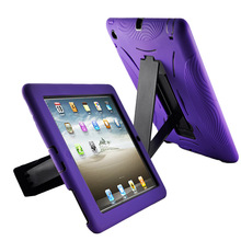Factory price smart magnetic case for iPad, luxury style for Apple iPad 2 3 4 wallet case