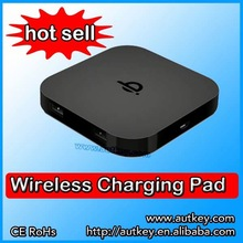 2014 factory sell 2 USB qi wireless charger case for iphone