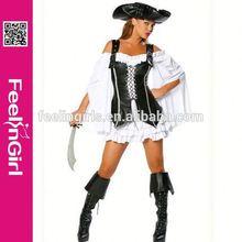 No moq factory dropship cheap womens caribbean pirate costume women