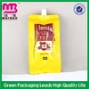 China factory price promotional aroma oil bag with cap spout pouch