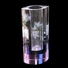 Top quality crystal glass vase (CP-10076)