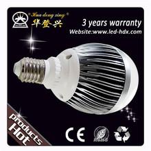 3w 5w 7w e27/b22/gu10 pure white/warm white led bulbs 220v 5watt a60 e27 led bulb