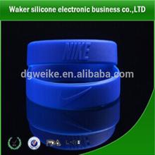 rubber silicone bracelets / rubber bracelets / silicone rubber college team bracelets