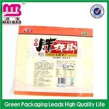 Custom cheap handmade vacuum food bag for chicken wings
