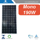 MCS approved 190W panel solar kit with aluminum frame for Mexico market