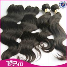 High quality 7A grade wholesale virgin brazilian weft hair