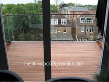 Composite wood Patio Floor Coverings