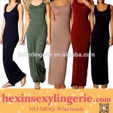 Drop shopping elgent hot selling girls maxi dress