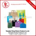 aceitar a ordem personalizada vários material plástico saco plástico vaso de flores