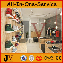 Basketball shoe store showcase for shoe store design